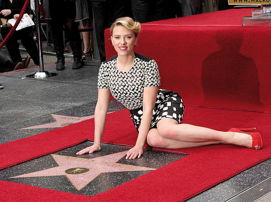 Scarlett Johansson Walk of Fame
