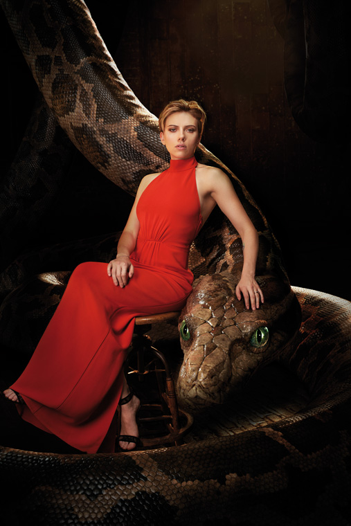 Scarlett in The Jungle Book