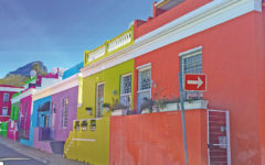 Colorful Capetown Houses