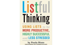 Listful Thinking by Paula Rizzo