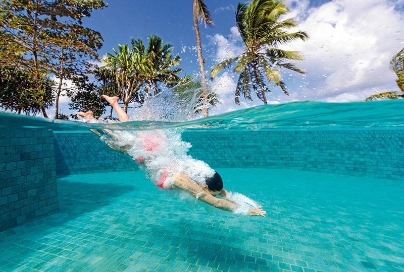 The pool at Fiji's Nanuku Auberge Resort. PHOTO: MKLENNAN/ COURTESY NANUKI AUBERGE RESORT