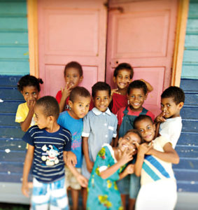 Children of Yasawa Island
