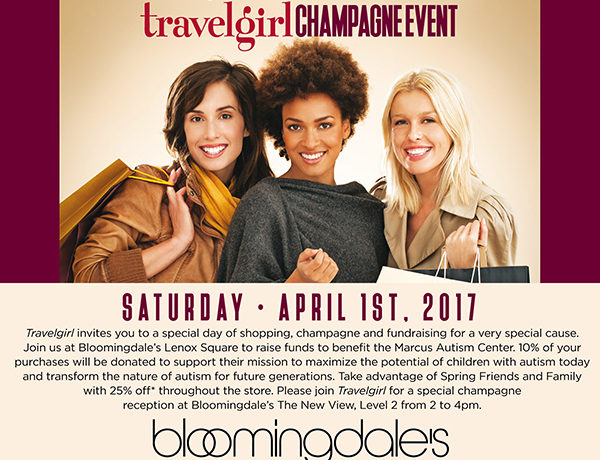 Travelgirl Champagne Event at Bloomingdales