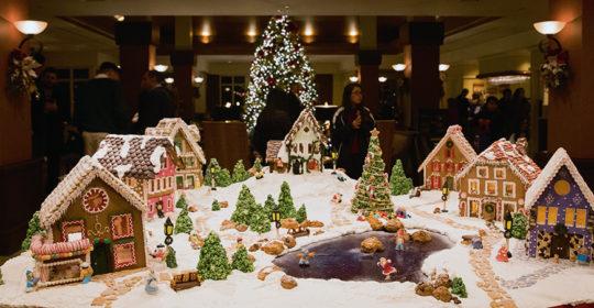 Peeble Beach Resorts Gingerbread