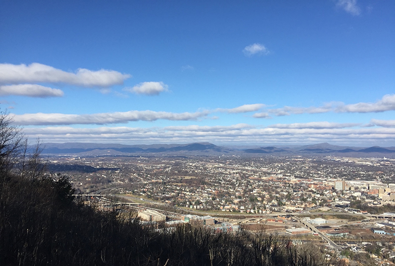 A view from the Roanoke Star