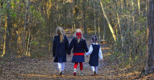 Take a walk at the Alabama Nature Center. Photo courtesy of the Alabama Wildlife Federation